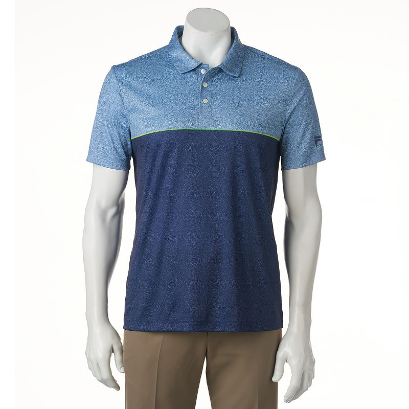 Men's FILA SPORT GOLF® Classic-Fit Colorblock Performance Golf Polo