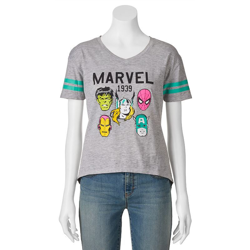 Juniors' Marvel Characters ''1939'' Football T-Shirt