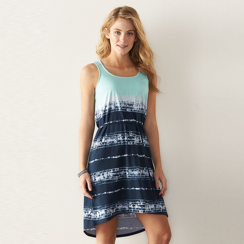 Women's SONOMA Goods for Life™ Printed Tank Dress