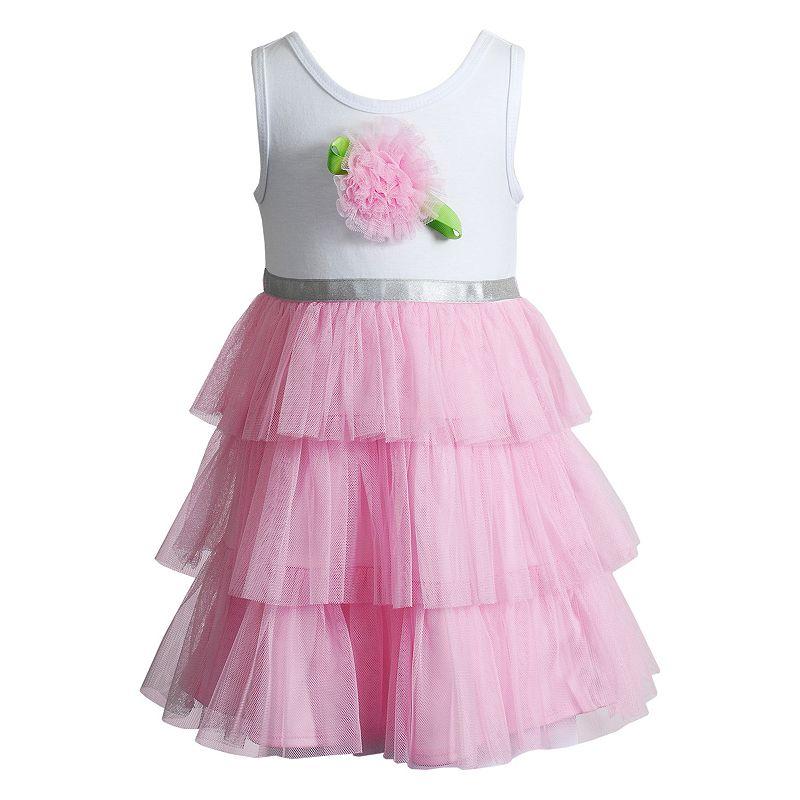 Baby Girl Youngland Rosette Tulle Dress