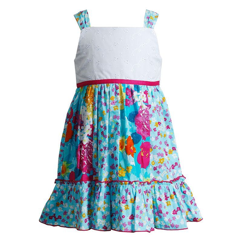 Baby Girl Youngland Floral Ruffle Sundress