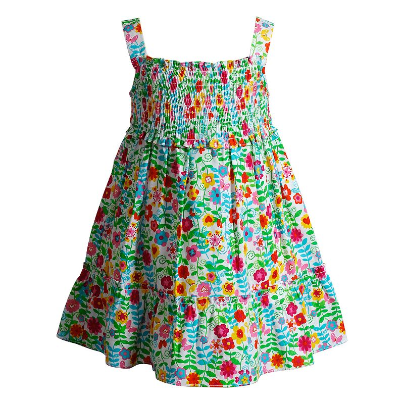 Baby Girl Youngland Floral Smocked Sundress