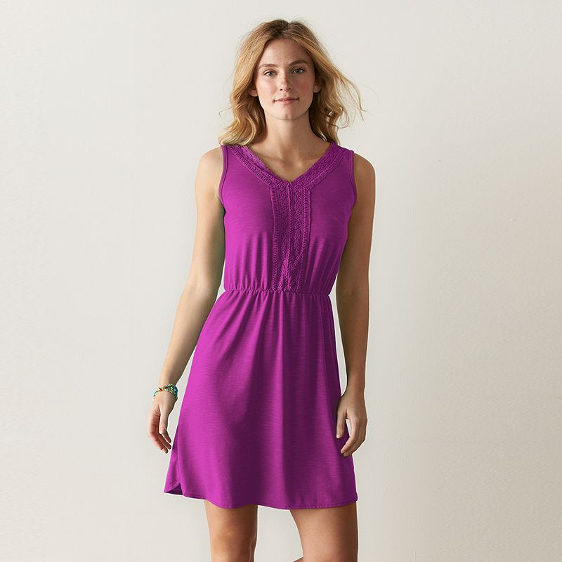 Women's SONOMA Goods for Life™ Lace Shift Dress