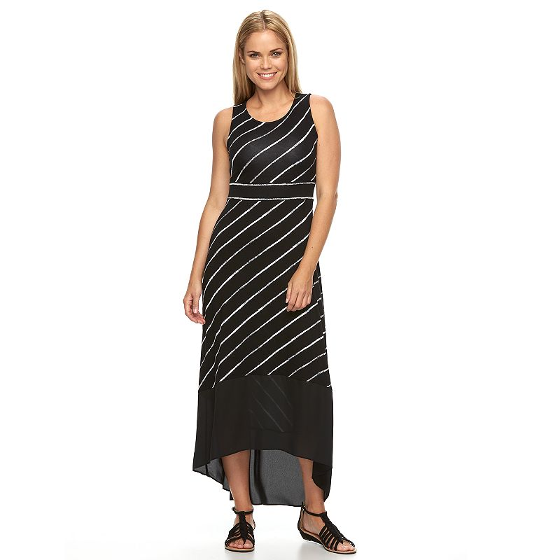 Petite Apt. 9® High-Low Hem Maxi Dress