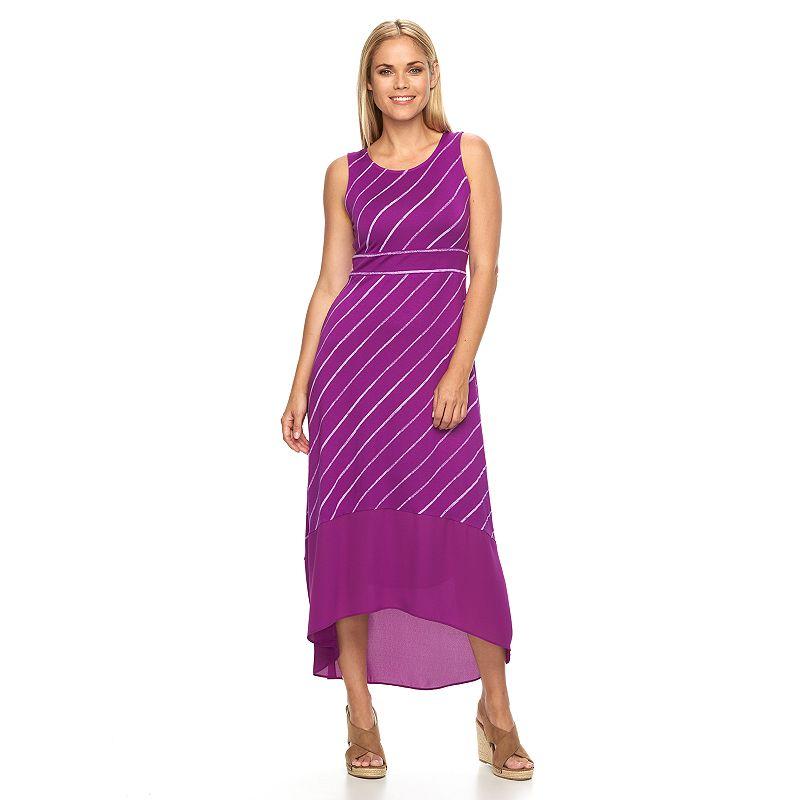 Petite Apt. 9® High-Low Hem Maxi Dress