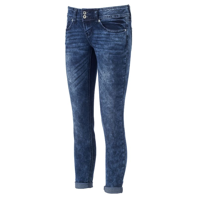 Juniors' Hydraulic Bailey Super Skinny Jeans