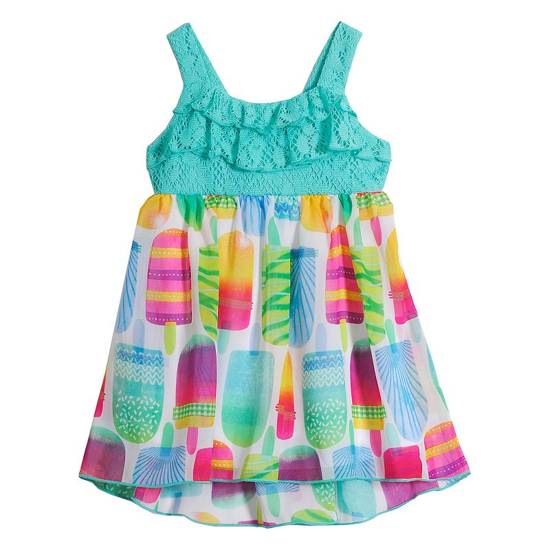 Baby Girl Youngland Lace Popsicle Dress