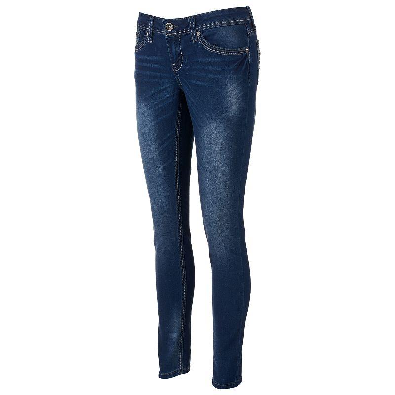 Juniors' Hydraulic Lola Curvy Super Skinny Jeans