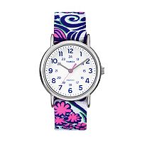 Timex Women's Weekender Floral Reversible Watch - TW2P90200JT