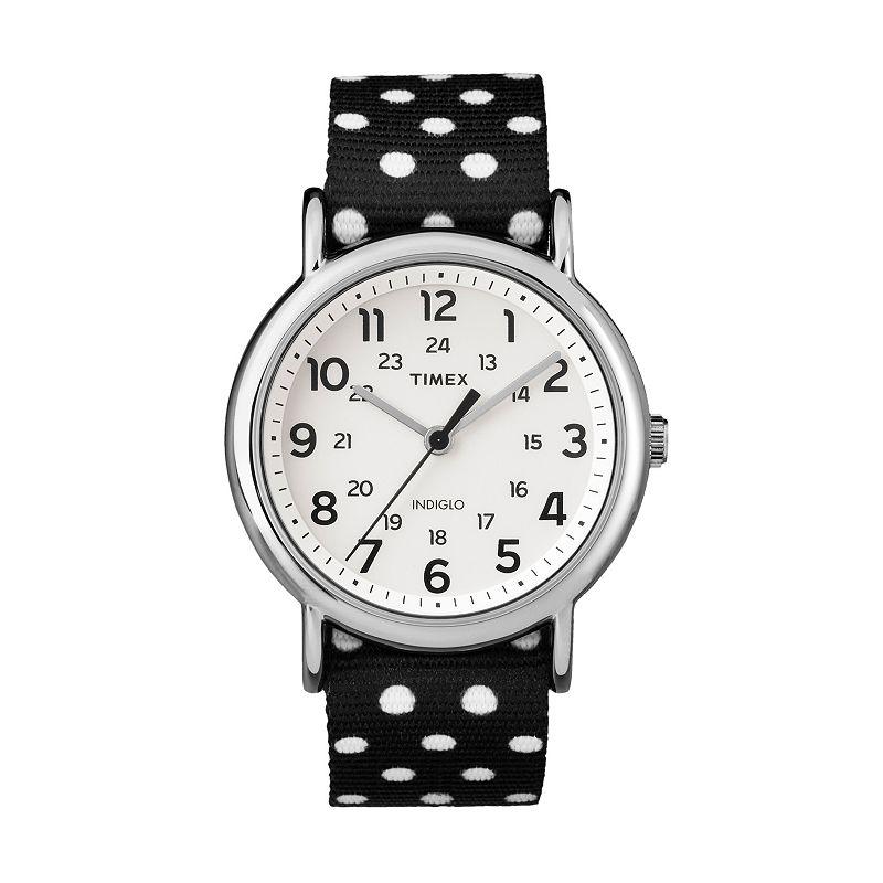 Timex Women's Weekender Polka Dot Reversible Watch - TW2P86600JT