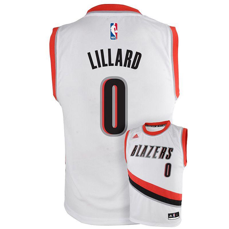 Boys 8-20 adidas Portland Trail Blazers Damian Lilliard Jersey