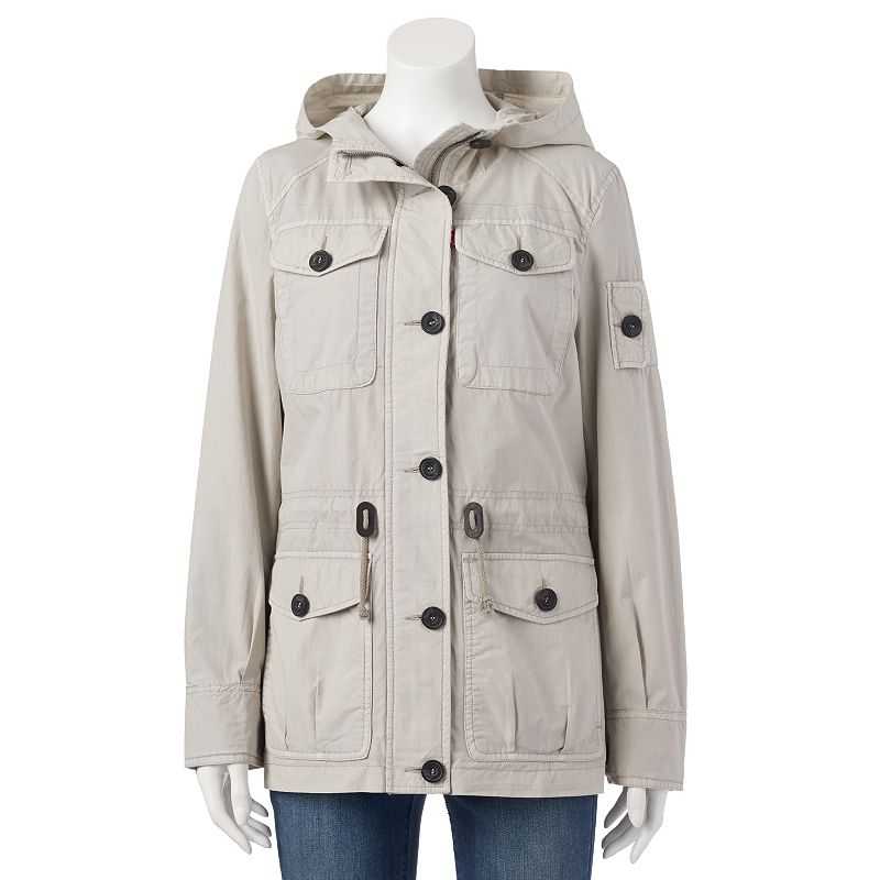 Women's Levi's Hooded Anorak Utility Jacket