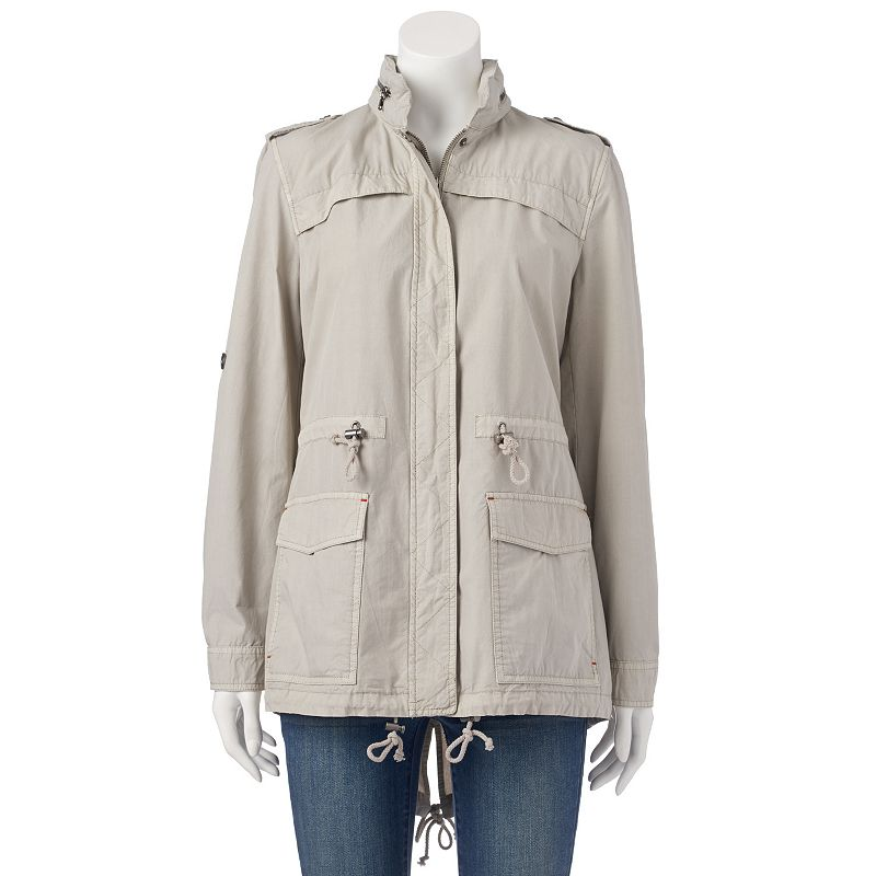 Women's Levi's Hooded Roll-Tab Anorak Jacket