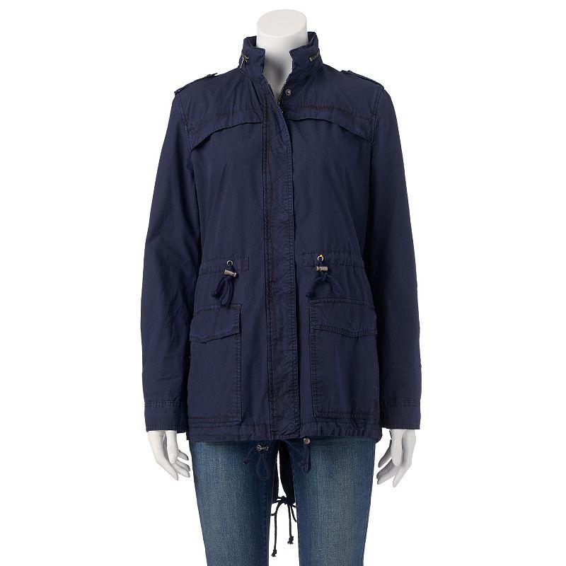 Women's Levi's Hooded Roll-Tab Anorak Jacket