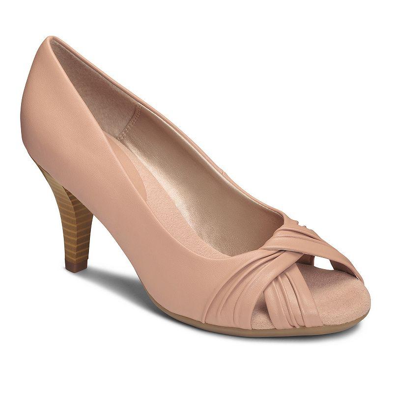 A2 by Aerosoles Deluxe Women's Peep-Toe High Heels