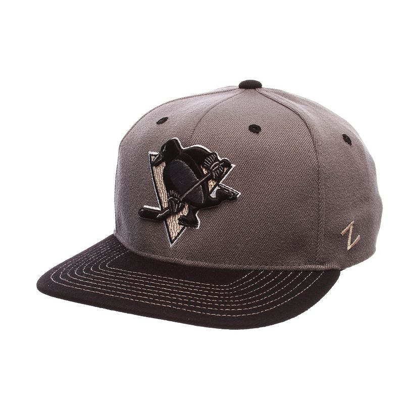 Adult Pittsburgh Penguins Nebulous Stretch-Fit Cap
