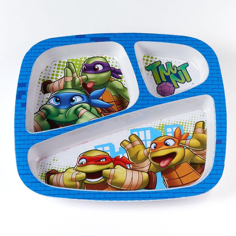 Teenage Mutant Ninja Turtles Kid's Divided Melamine Plate