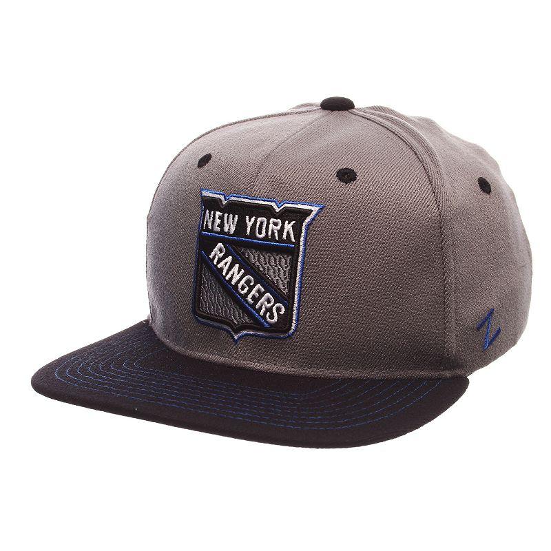 Adult New York Rangers Nebulous Stretch-Fit Cap