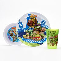 Teenage Mutant Ninja Turtles 3-pc. Dinnerware Set