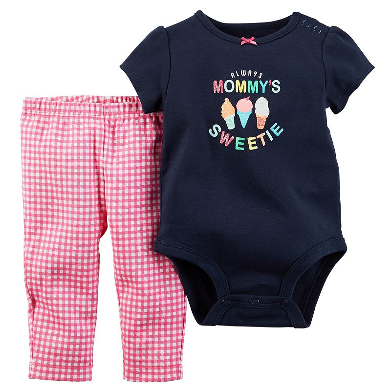 Baby Girl Carter's Graphic Bodysuit & Leggings Set