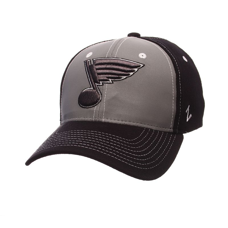 Adult Zephyr St. Louis Blues Night Game Stretch-Fit Cap