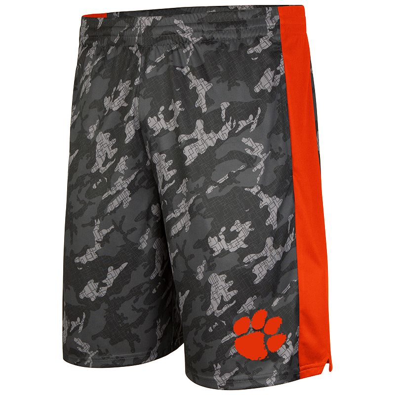 Men's Campus Heritage Clemson Tigers Mustang IV Shorts