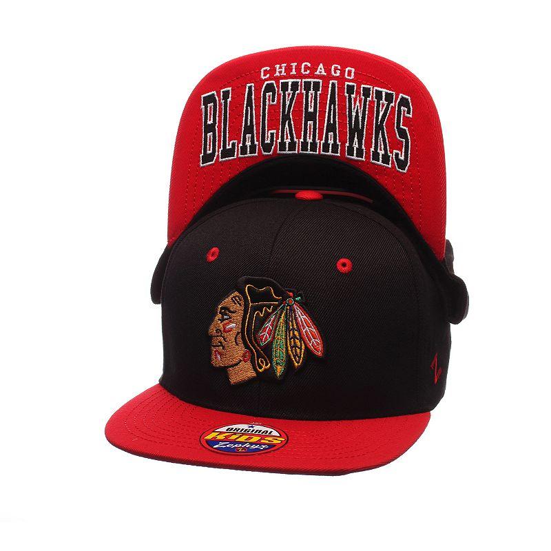 Youth Zephyr Chicago Blackhawks Undercard Snapback Cap