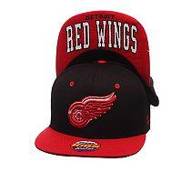Youth Zephyr Detroit Red Wings Undercard Snapback Cap