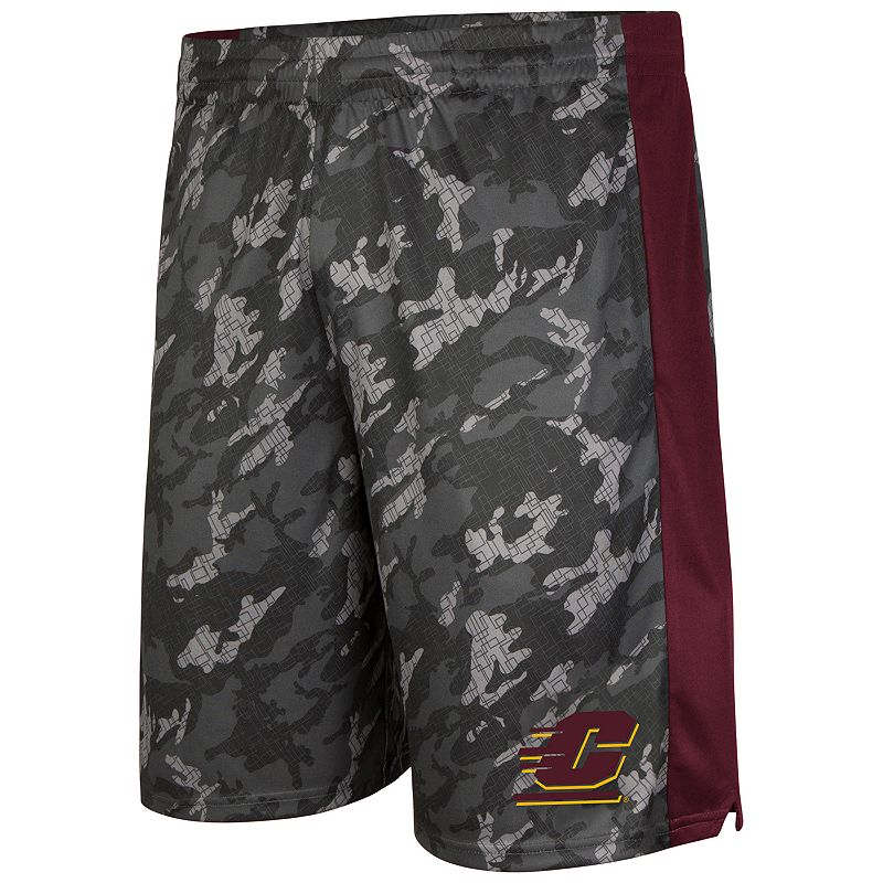 Men's Campus Heritage Central Michigan Chippewas Mustang IV Shorts