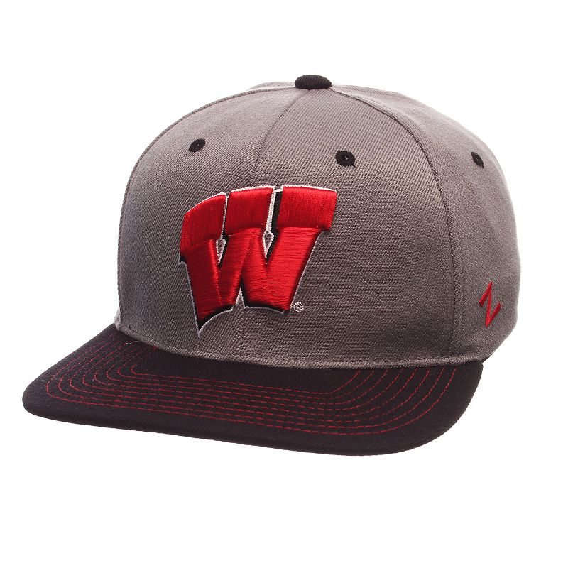 Adult Wisconsin Badgers Nebulous Stretch-Fit Cap