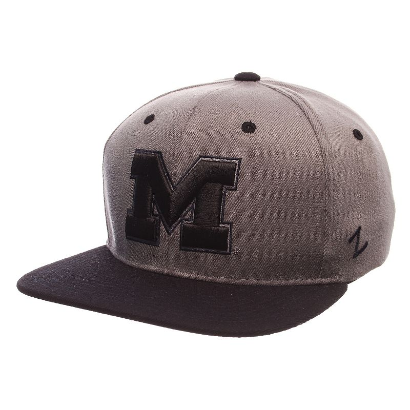 Adult Michigan Wolverines Nebulous Stretch-Fit Cap