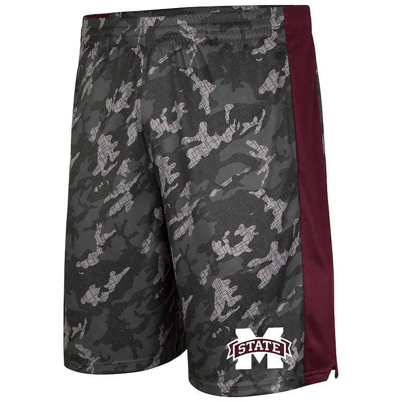 Men's Campus Heritage Mississippi State Bulldogs Mustang IV Shorts