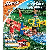Banzai Aqua Blast Obstacle Course