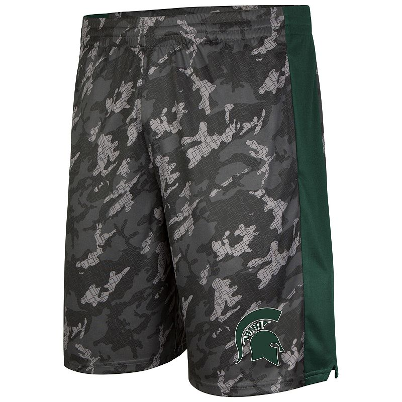 Men's Campus Heritage Michigan State Spartans Mustang IV Shorts