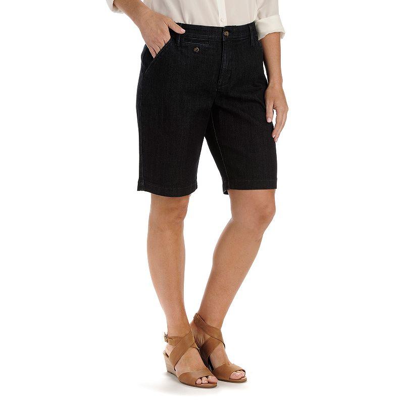 Petite Lee Jude Comfort Waist Bermuda Shorts