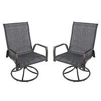SONOMA Goods for Life™ Coronado Swivel Sling Patio Chair 2-piece Set