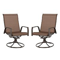 SONOMA Goods for Life™ Coronado Swivel Sling Patio Chair 2-piece Set