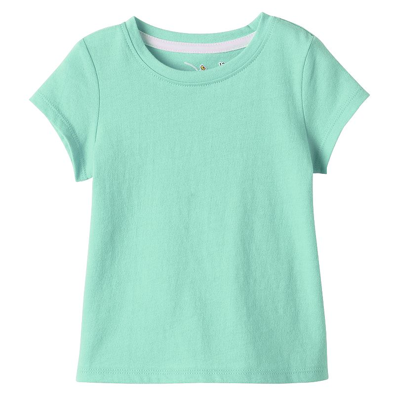 Baby Girl Jumping Beans® Solid Tee