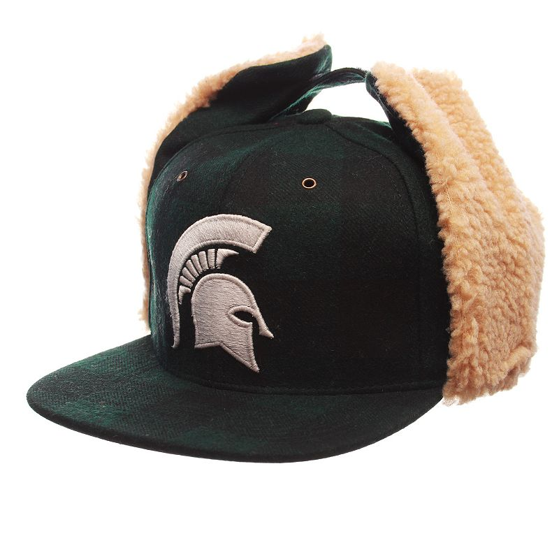 Adult Zephyr Michigan State Spartans Woodsman Fitted Hat