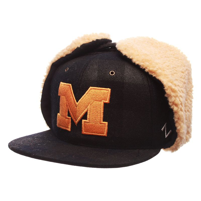 Adult Zephyr Michigan Wolverines Woodsman Fitted Hat
