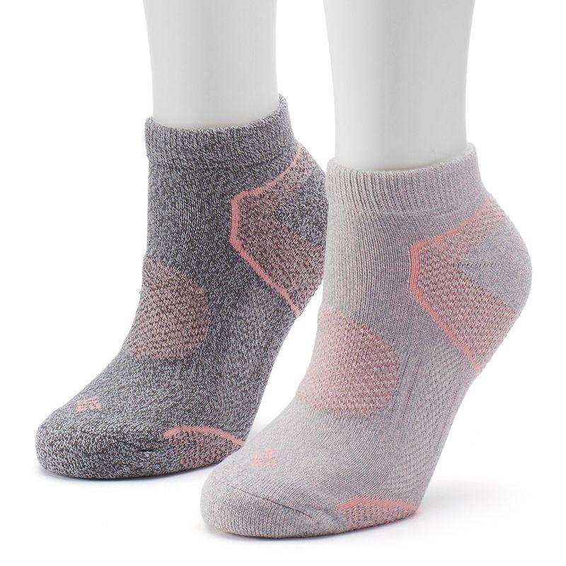 Women's Columbia 2-pk. Balance Walking Low-Cut Socks
