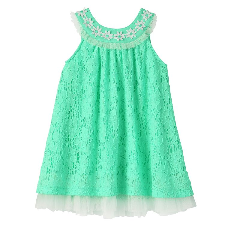 Baby Girl Blueberi Boulevard Lace Sundress