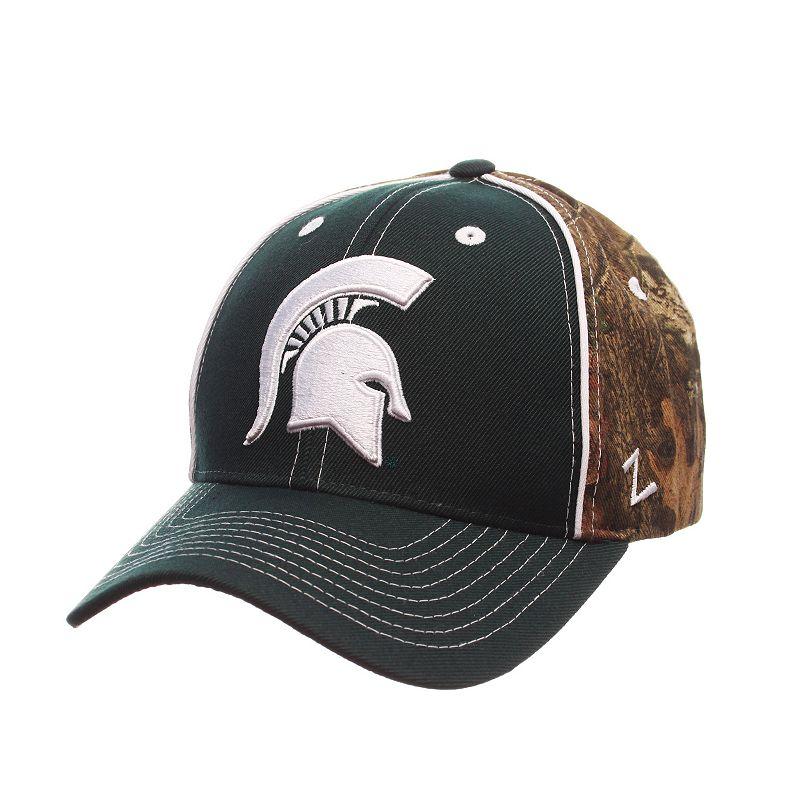Adult Zephyr Michigan State Spartans Hideaway Snapback Cap