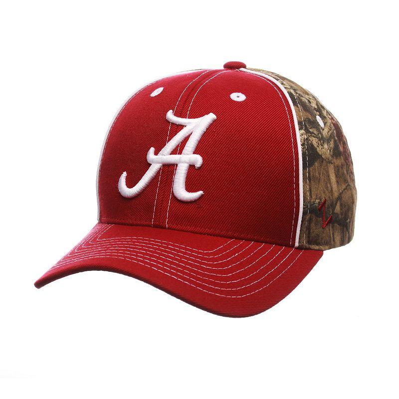 Adult Zephyr Alabama Crimson Tide Hideaway Snapback Cap
