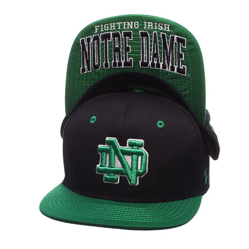 Youth Zephyr Notre Dame Fighting Irish Undercard Snapback Cap