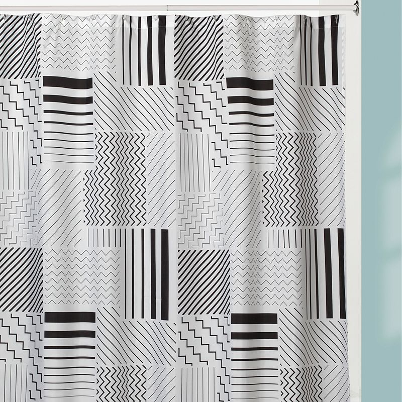 Creative Bath Modern Angles Shower Curtain
