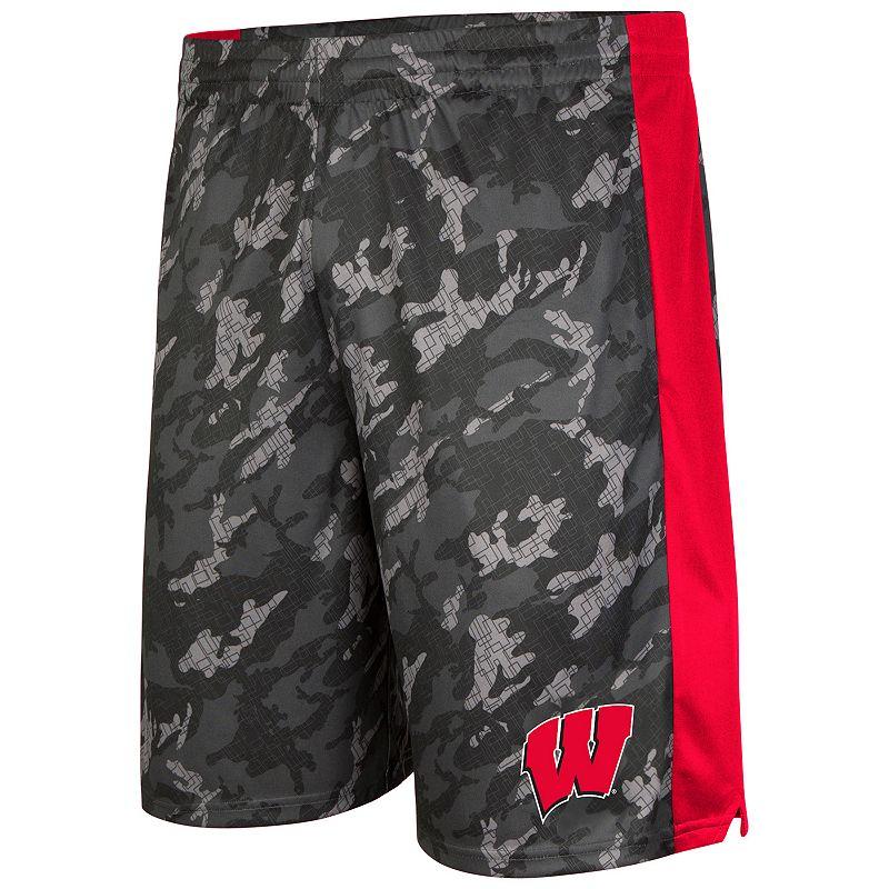 Men's Campus Heritage Wisconsin Badgers Mustang IV Shorts