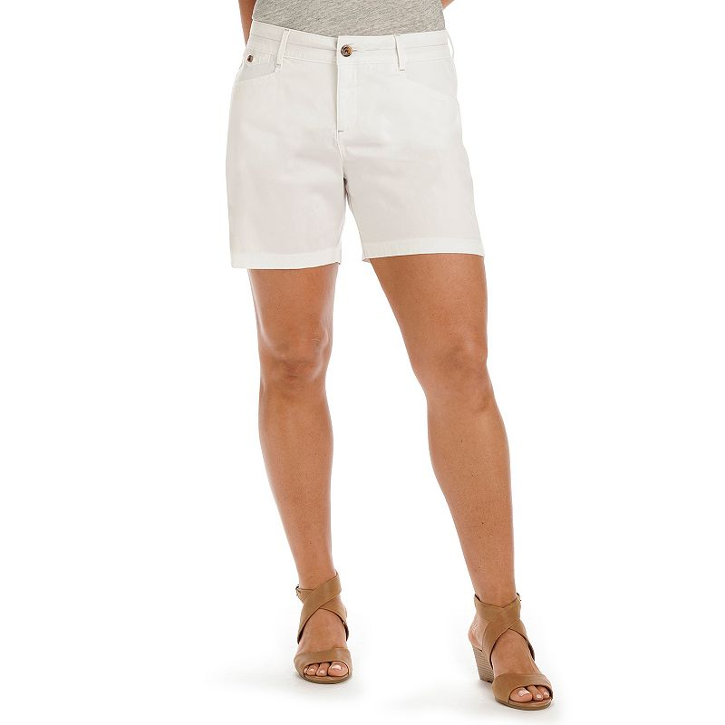 Petite Lee Jenna Natural Fit Walking Shorts