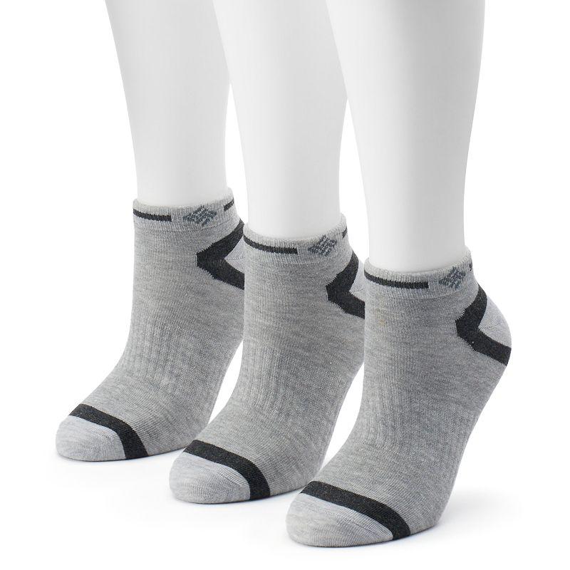 Women's Columbia 3-pk. Explorer Striped Low-Cut Socks