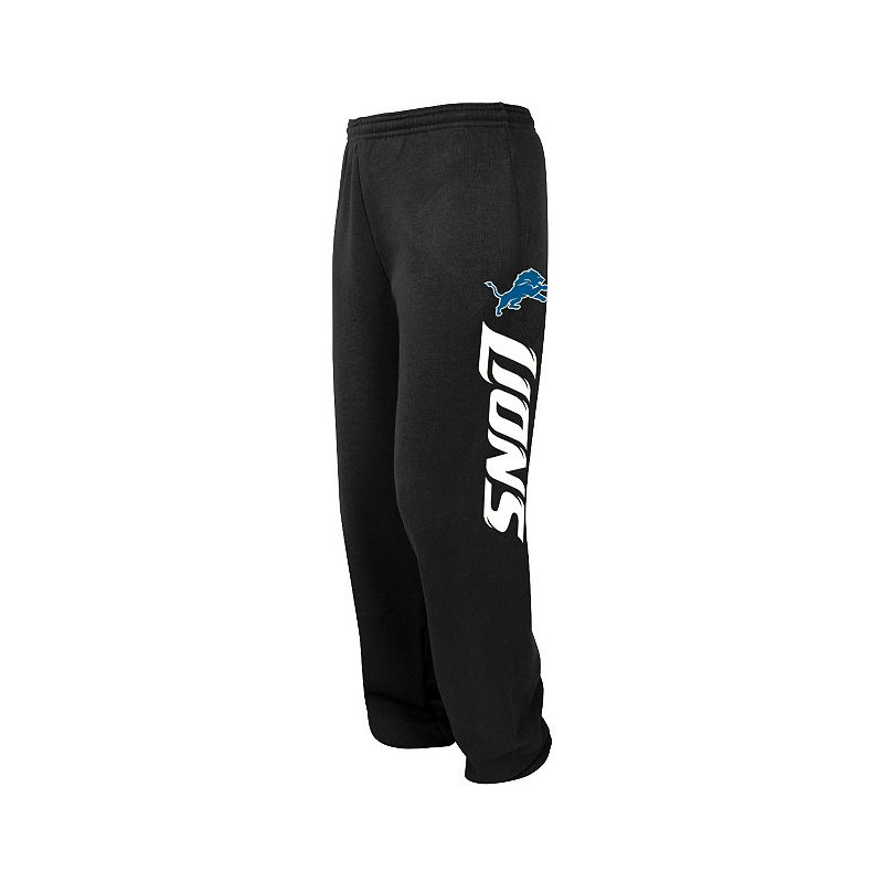 Big & Tall Majestic Detroit Lions Tipped Pass Fleece Pants